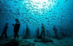 Podwodne muzeum na Lanzarote