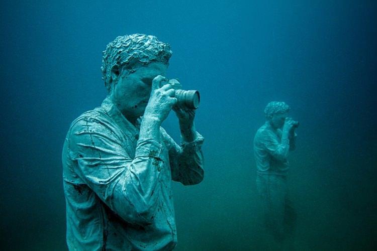 muzeum pod wodą na Lanzarote