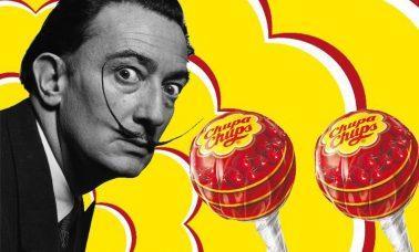 To właśnie Salvador Dali zaprojektował logo lizaków Chupa Chups