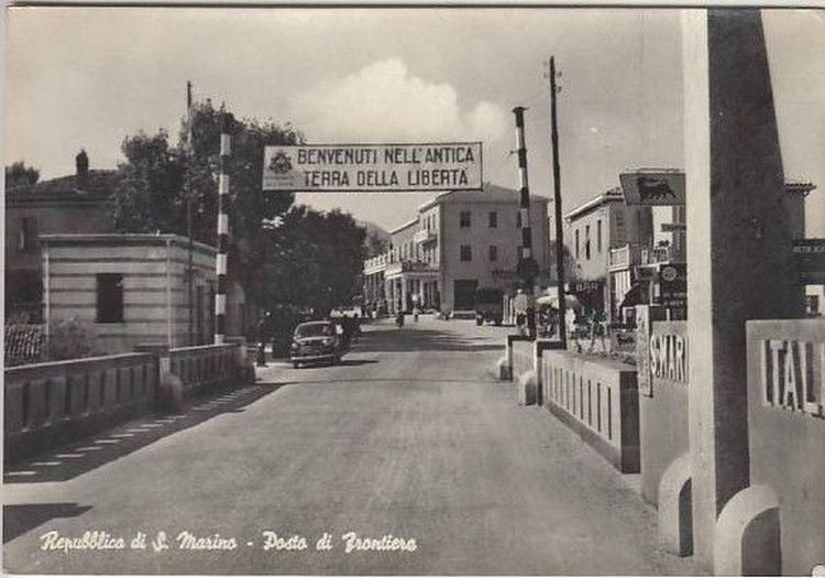 Granica pomiędzy San Marino i Włochami