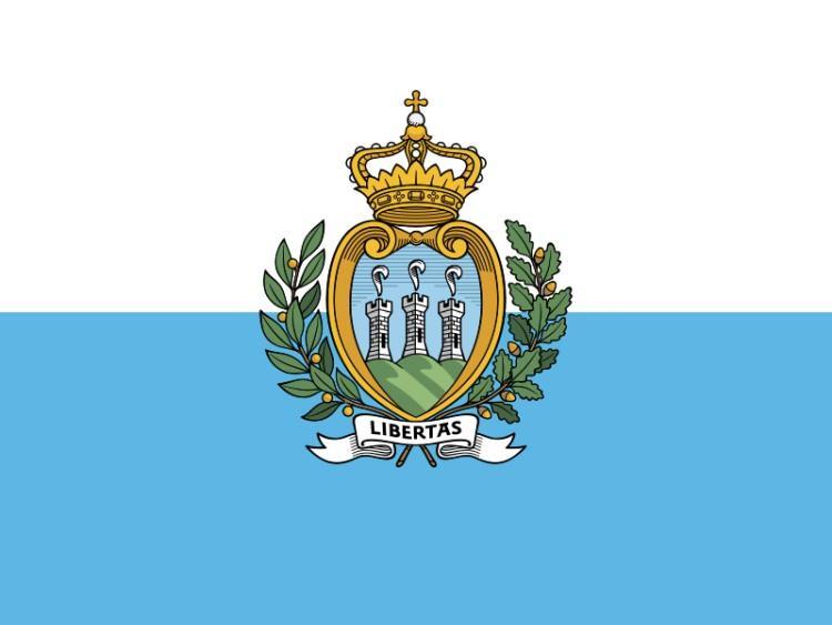 flaga i herb San Marino