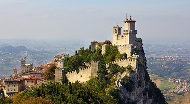 Trzy wieże w San Marino