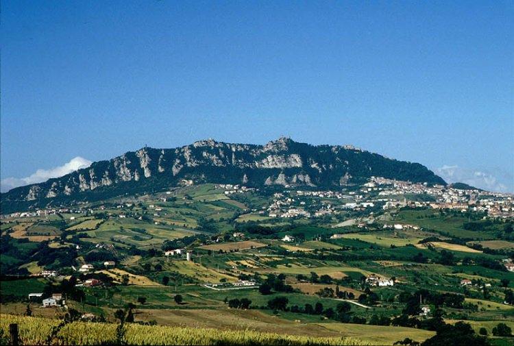 Góra Monte Titano w San Marino