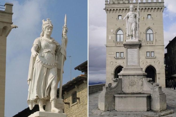 San Marino Statua Wolności