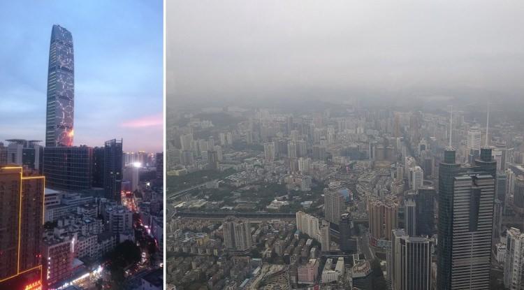 wieżowiec KK100 w Chinach