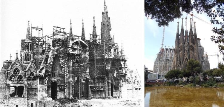Sagrada Familia - fasada Narodzenia Pańskiego