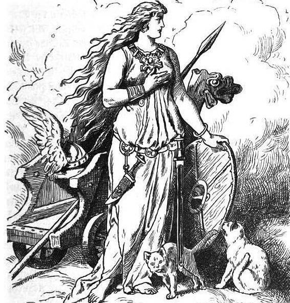 Freja i jej koty
