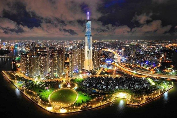 Ladmark 81 - najwyższy wieżowiec w Wietnamie
