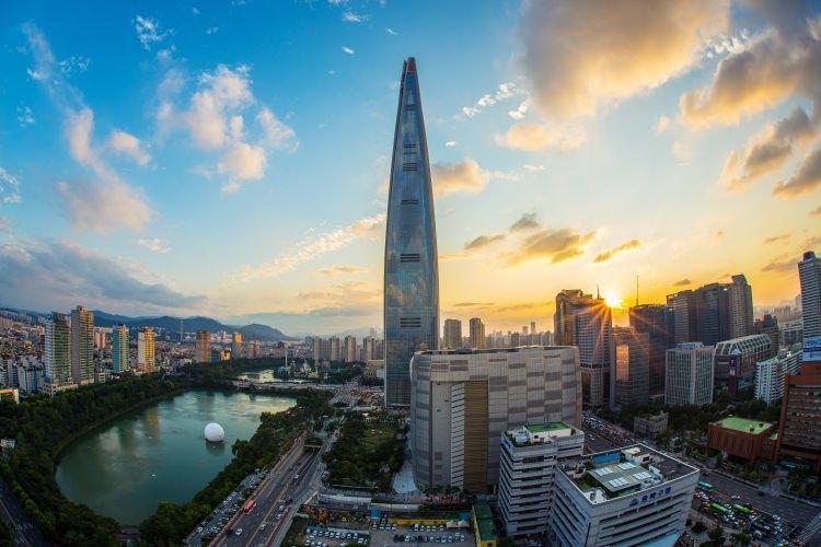 Lotto World - najwyższych budynek w Korei Południowej