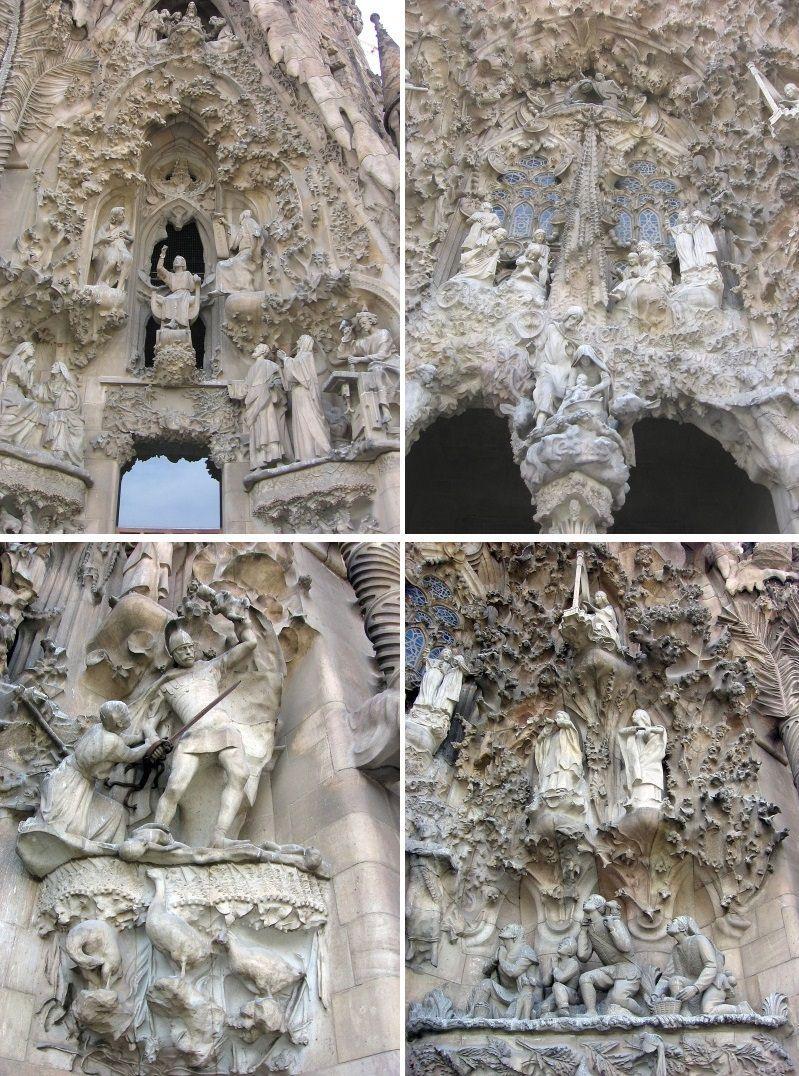 Sagrada Familia - detale