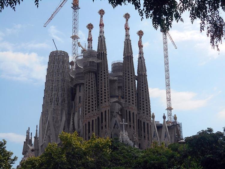 Sagrada Familia Fasada Męki Pańskiej