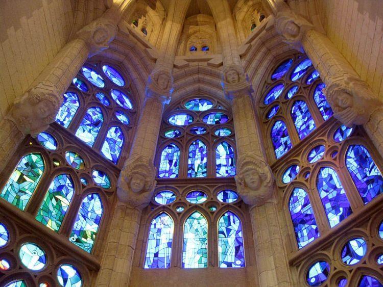 Sagrada Familia witraże