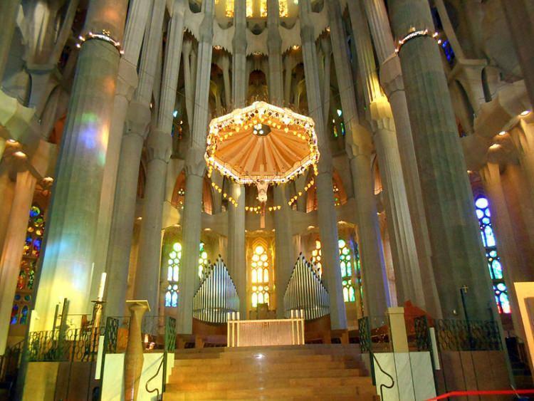 Centralny ołtarz - Sagrada Familia