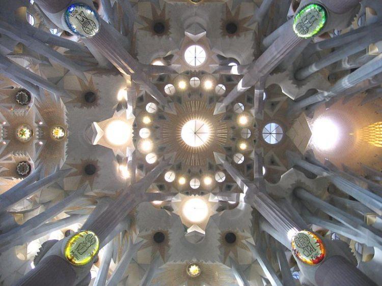 Sagrada Familia w środku