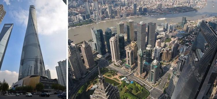 Shanghai Tower - jeden z najwyższych budynków na świecie