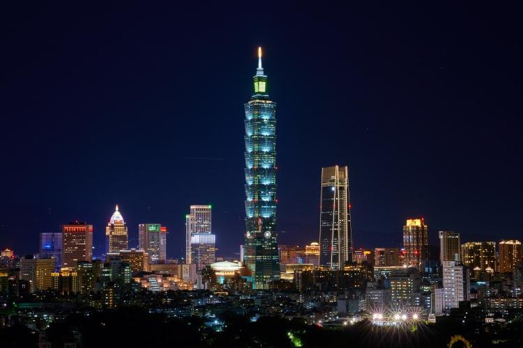 Taipei 101 na Tajwanie - budynek o wysokości przekraczającej 500 metrów jest jednym z najwyższych na świecie