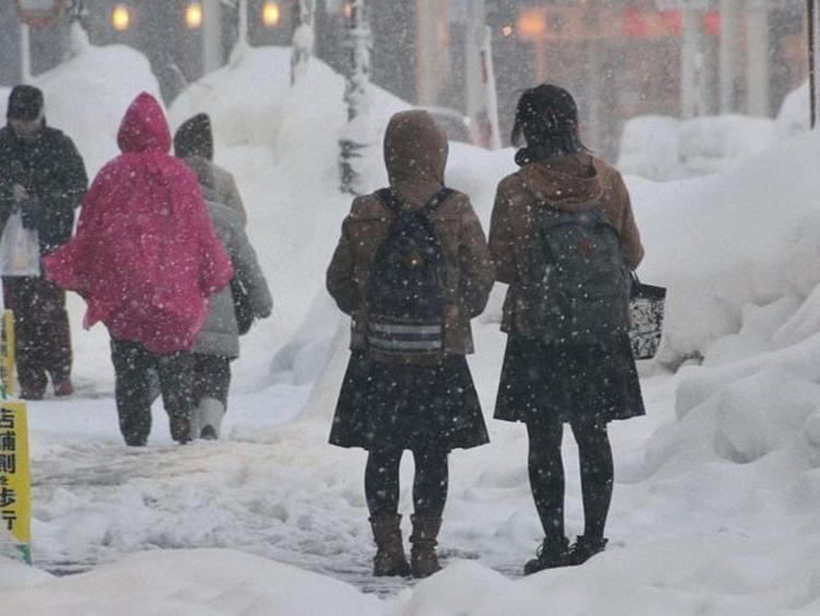 Zima w Aomori