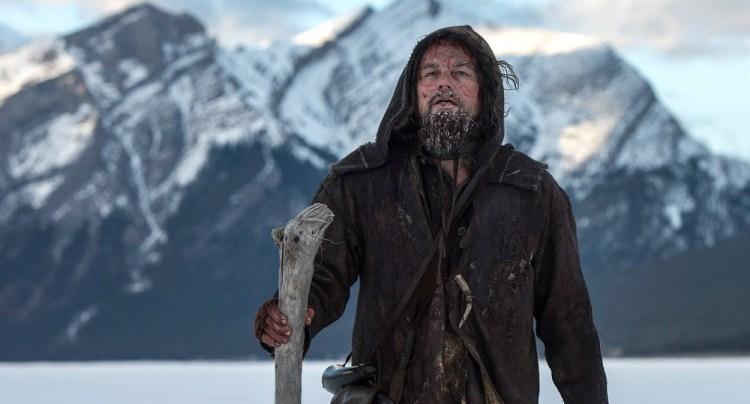 """Leonardo Di Caprio w filmie """"Zjawa"""""""