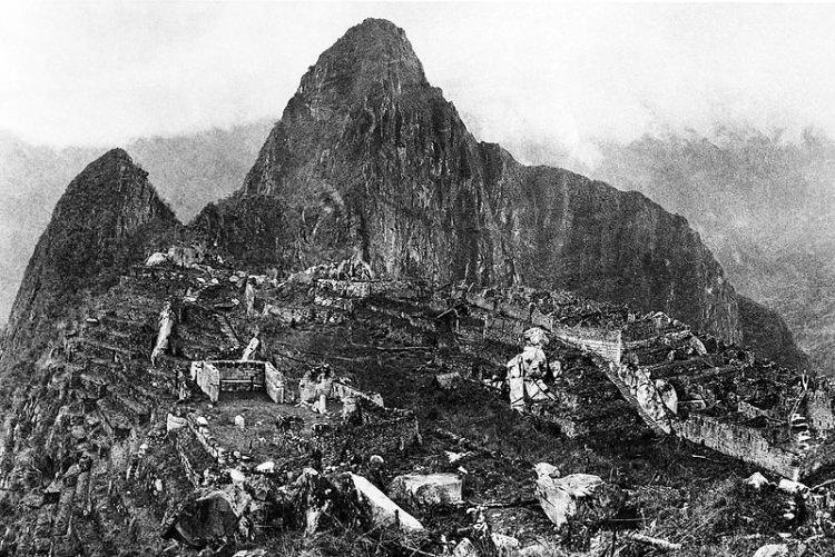 Machu Picchu stare zdjęcia