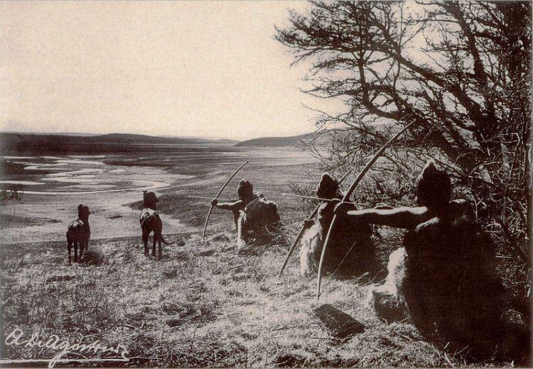 Plemię Selknam, Ziemia Ognista