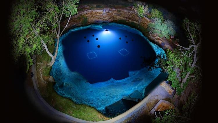 Santa Rosa Blue Hole