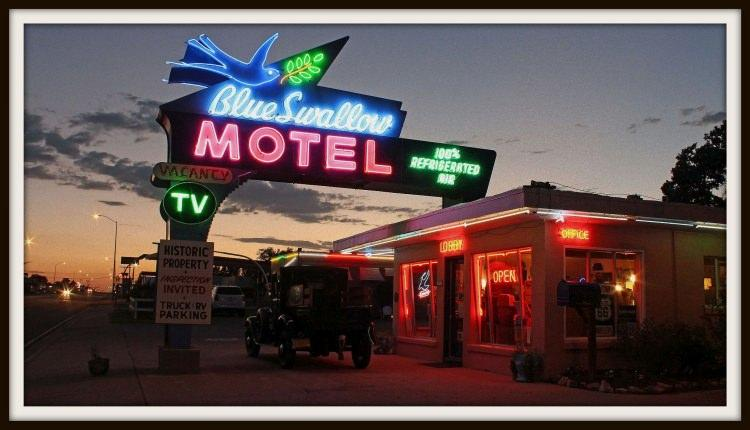 Blue Swallow Motel przy Route 66
