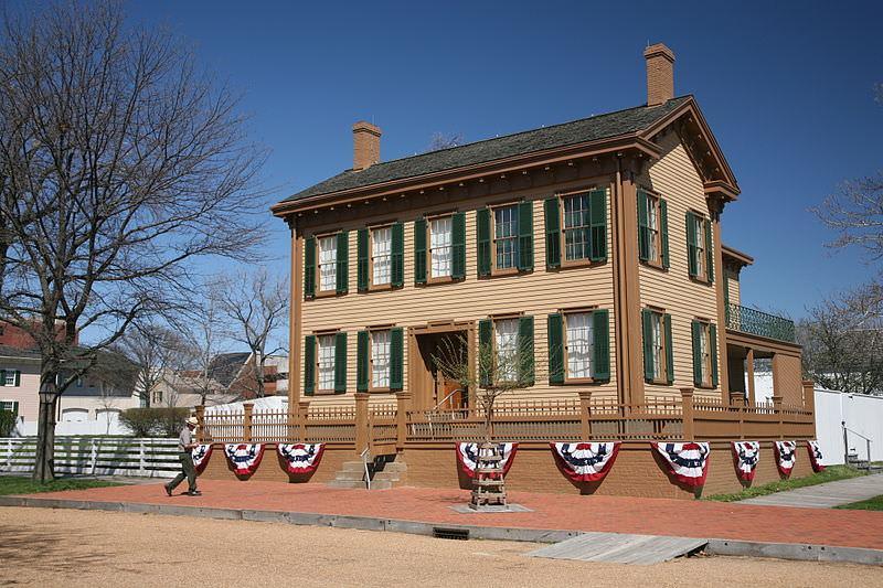 Dom Abrahama Lincolna w Springfield