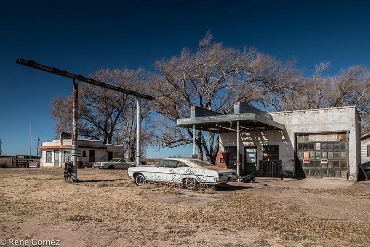 Glenrio - opuszczone miasto w USA