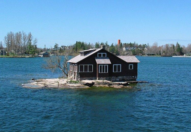 najmniejsza zamieszkana wyspa na świecie