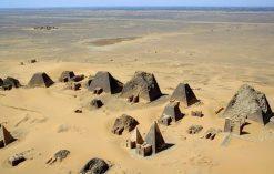 Piramidy w Meroe