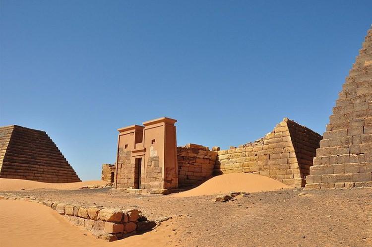 Meroe Piramidy