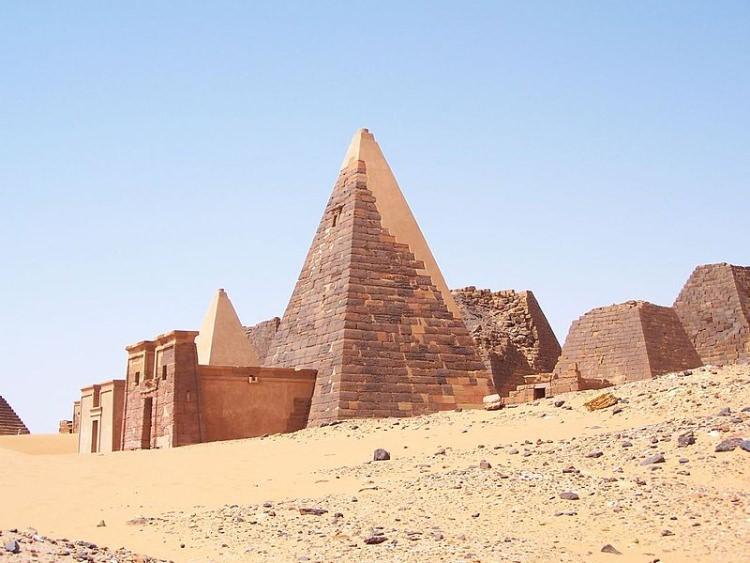Piramidy Meroe