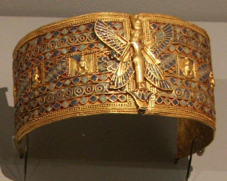 Złota biżuteria królowej Amaniszacheto