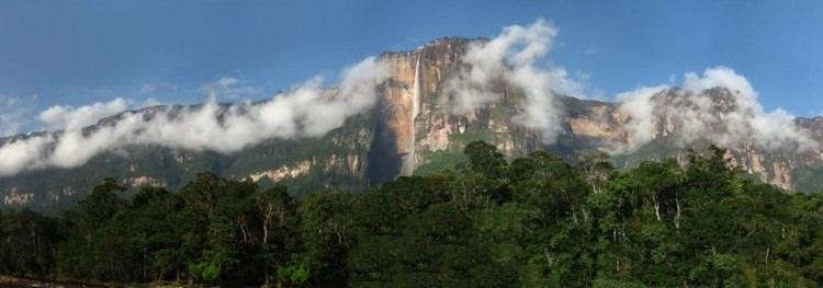 Auyan tepui - Diabelska góra w Wenezueli