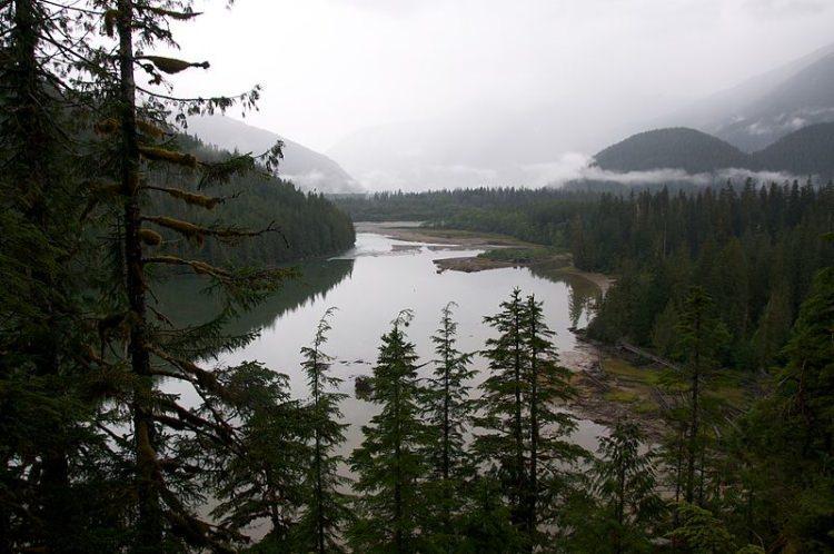 jezioro Kitlope