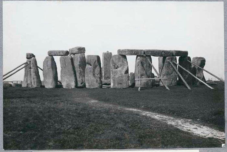 Stare zdjęcie Stonehenge z 1919 roku