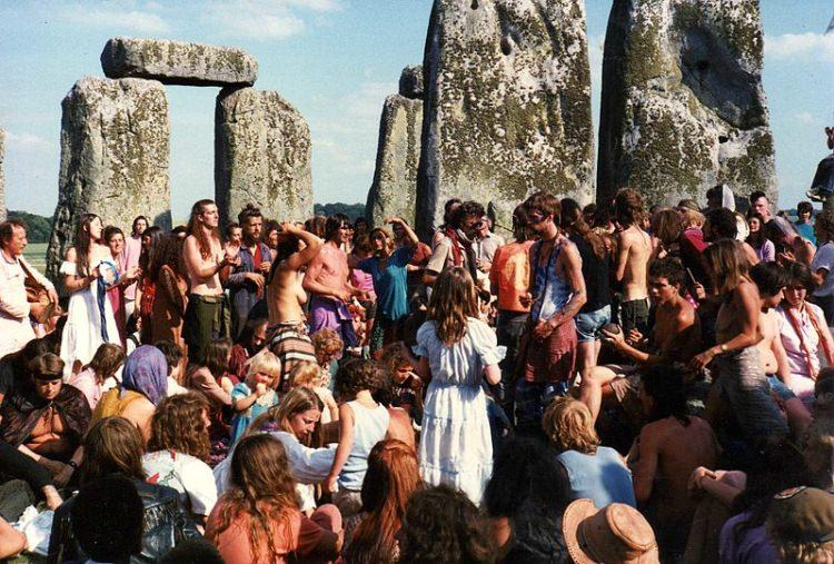 Stonehenge Free Festival w 1984 roku