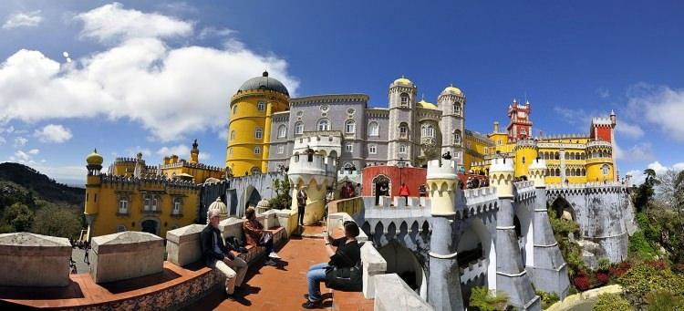 Pałac Pena Portugalia