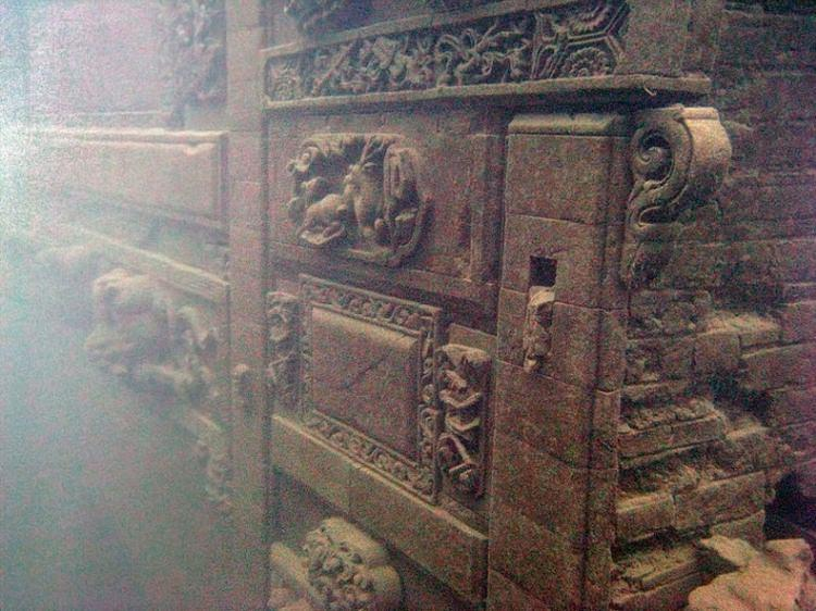 Shi Cheng podwodne miasto w Chinach