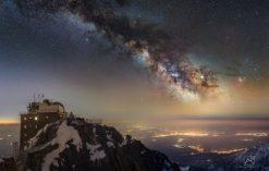 Droga Mleczna nad Łomnicą