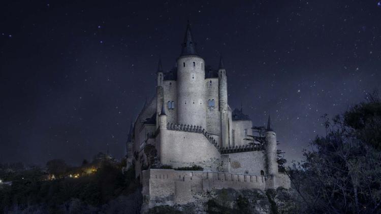 zamek Alcazar Segowia