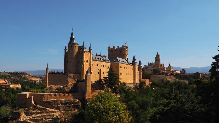 zamek Alcázar w Segowii