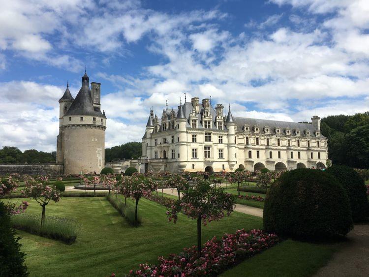Zamek Chenonceau Francja