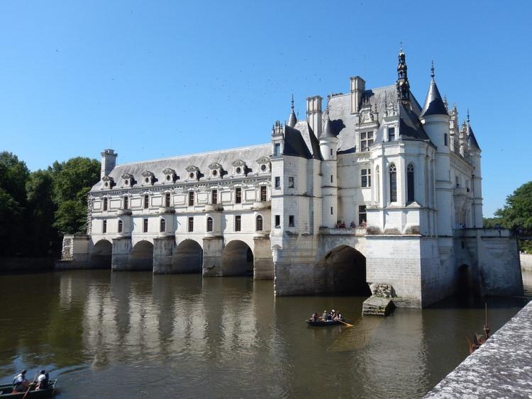 Zamek Chenonceau we Francji