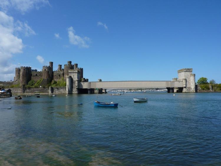 Zamek Conwy Walia