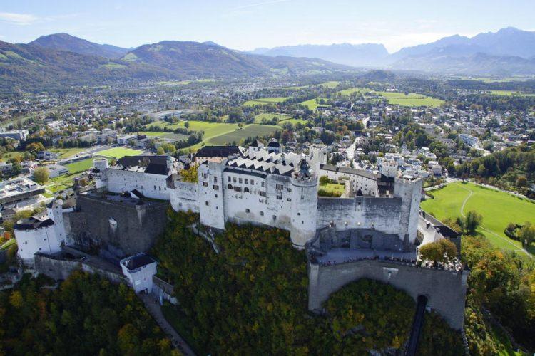 Twierdza Hohensalzburg w Salzburgu