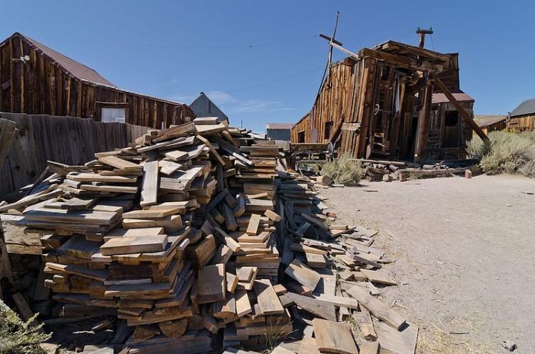 Bodie opuszczone miasto w USA