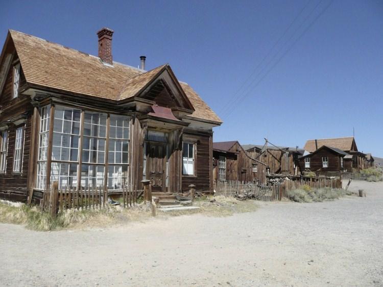 Bodie USA - opusczone miasto