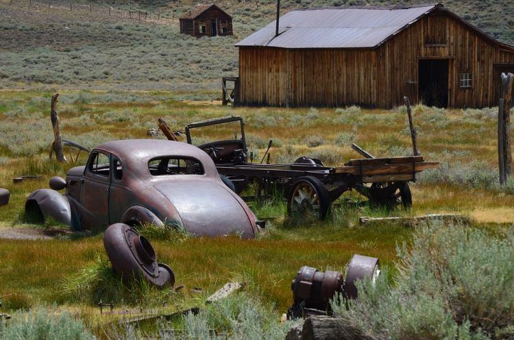 Bodie USA - opuszczone miasto