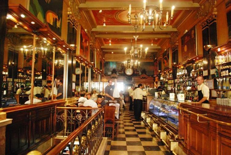 kawiarnia Café A Brasileira w Lizbonie